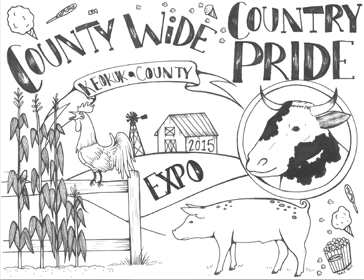 keokuk county expo